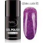 NANI Gel lak Amazing line Glitter Violet 5 ml