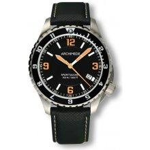 Archimede SportTaucher GMT orange kovový náramek