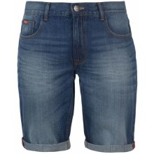 Lee Cooper Regular denim shorts Mens Mid Wash