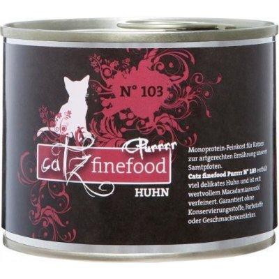 Petnature Catz Finefood Purr No.103 s kuřecím masem 200 g