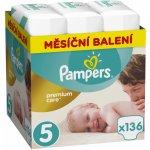 Pampers Premium Care 5 Junior 11-18 kg 136 ks