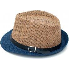 Art of Polo Dvoubarevný Trilby klobouk se stuhou cz15160 10 245372f6d8