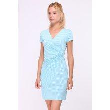 699 Kč Butik Radost. Revdelle letní puntíkaté šaty Camilles tyrkys modrá f1dfa0798c