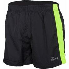 Běžecké šortky Rogelli TARANTO, černo-reflexní žluté