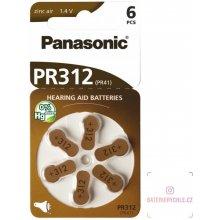 Panasonic baterie do naslouchadel 6ks PR312(41)/6LB