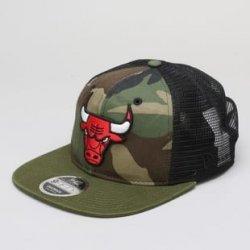 Kšíltovka New Era 950 NBA Washed Camo Snapback Chicago Bulls camo zelená    černá   olivová 130a446bbf