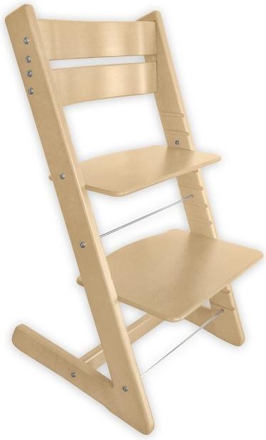 075ca257f83a Jitro Klasik rostoucí židle přírodní lakovaná