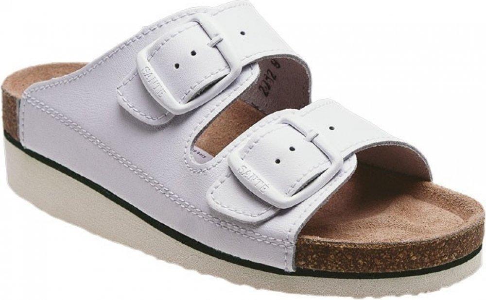 Santé N 25 10 H K bílé pantofle zdravotní  0c2473c098