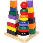 Legler Pyramidy 3 v 1 Didaktické hračky