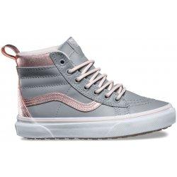 1a453f45b8b01 Dětská bota Vans SK8-HI MTE Metallic/Alloy/Heavenly Pink