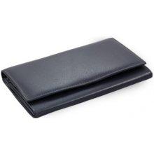 Arwel Dámská kožená psaníčková peněženka s klopnou 511 4027 modrá