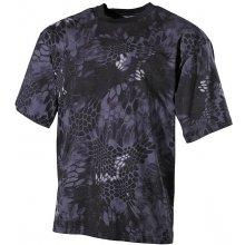 tričko US army MFH Snake černá
