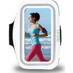 Pouzdro Azuri sport armband sportovní L bílé