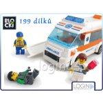 ICOM Blocki záchranářské auto 199 dílů