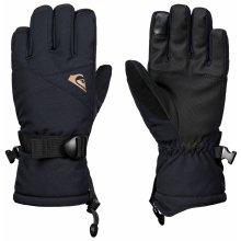 Quiksilver Chlapecké rukavice Mission - černé c4df619d40