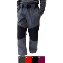 437df4515b3 Fantom dětské kalhoty SOFTSHELL s cordurou tmavě šedá