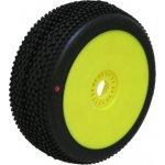 PROCIRCUIT HOT DICES Xtreme/červená směs Off-Road 1:8 Buggy gumy nalep. na žlutých disk. 2ks