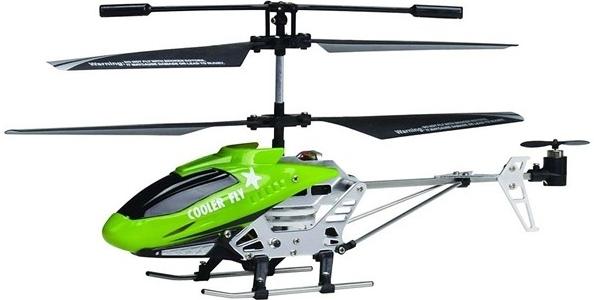 Fleg RC vrtulník Green GYRO