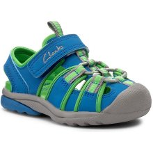 Clarks Beach Mate Fst 261180236 Blue Synthetic