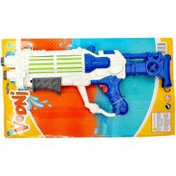 Vydej se na bitvu s touto velkou pistolí, která vystřeluje vodní kuličky, díky kterým.