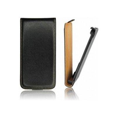 Pouzdro ForCell Slim Flip LG L Fino D290N Černé