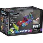 LaserPegs Stavební stroje 8v1
