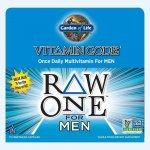 Garden of Life Vitamin Code Raw One Pro muže 75 kapslí