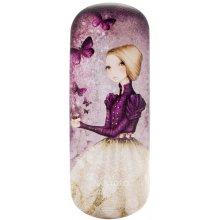 Santoro London - Pouzdro na brýle - Mirabelle - Amethyst Butterfly Pastelově růžová