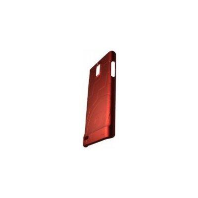 Pouzdro Huawei Color Shell Huawei Ascend P1 červené