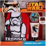 EP Line Star Wars sprchový gel 30 ml + mycí rukavice + šumivá kapsle do koupele dárková sada