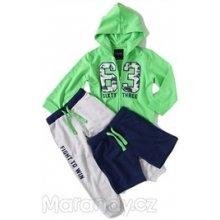 Mayoral 3-dílná chlapecká tepláková souprava NEON zelená
