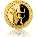 Česká mincovna Zlatý dukát Znamení zvěrokruhu s věnováním Střelec 3,49 g