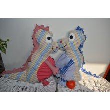 KHC Pyžamožrout dinosaurus do modra pro chlapečka