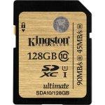 Kingston SDXC 128GB UHS-I SDA10/128GB