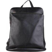 281fe189c8f Navaro ITALSKÉ Italský kožený a kabelka v jednom černý