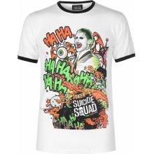 Character Suicide Squad T Shirt Mens Grafitti Joker