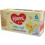 Hami mlíčko s kaší s příchutí vanilky 2x250ml 6+
