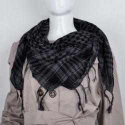 V V Dámský šátek Shemagh Palestina černá tmavě šedá alternativy ... 455f9dc81c