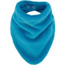 Esito šátek na krk Lara podšitý bavlnou Tyrkysová