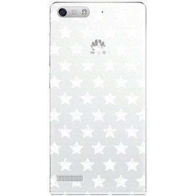 Pouzdro iSaprio Stars Pattern Huawei Ascend G6 bílé