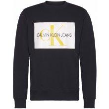 Calvin Klein Jeans Mono Crew Sweater CK Black
