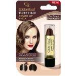 Golden Rose Gray Hair Touch-Up Stick barvící korektor na odrostlé a šedivé vlasy 04 Red Brown 5,2 g
