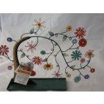 Stojánek na šperky - kvetoucí strom