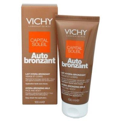 Vichy Capital Soleil Auto bronzant mléko 100 ml
