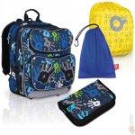 Topgal Sada pro školáka CHI 699 D SET LARGE (batoh, pouzdro,pláštěnka,sáček na cvičky)