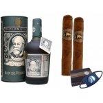 Dárkový set rum Diplomatico 12yo + doutníky Vallejuelo Robusto