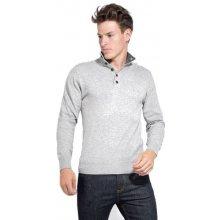 William de Faye pánský svetr šedá