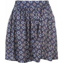 SoulCal print skirt navy print
