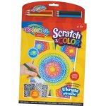 Omalovánky Scratch and color omalovánky 12 motivů Colorino