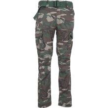 Surplus Kalhoty Premium Slimmy woodland oprané